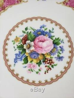 1944 Royal Albert Lady Carlyle Bone China Teapot Set- Excellent
