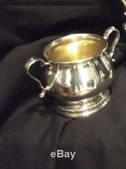 3 Pc Demitasse Set, Teapot, Creamer & Sugar 840gr
