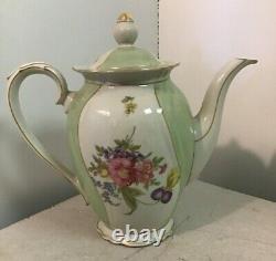 49pc set Winterling Bavaria Floral Pattern Teapots Plates Cups Sugar Creamer