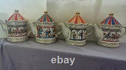 6 sadler teapot sets and 2 ginger jars (sets)