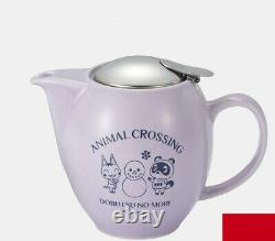 Animal Crossing New Horizons NINTENDO TOKYO Limited Tea pot and cup set NEW f/s