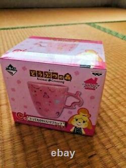 Animal crossing Mug shizue Tanukichi ichibankuji C Prize set Last one tea pot