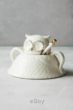 Anthropologie Wild Masquerade Teapot & Sugar Bowl Set NIB