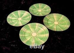 Antique 1920s ART DECO 15 pc Japan TEA SET hand-painted bone china Teapot unique