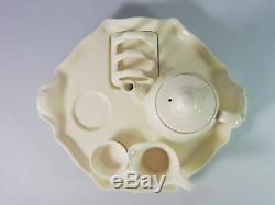 Antique Art Deco Royal Winton Grimwades Countess Breakfast Set Teapot Toast Rack