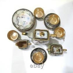 Antique Japanese Dragonware Hinode Teapot Tea Set