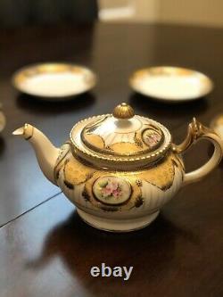 Antique Noritake Art Deco Tea Set