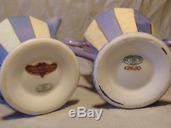 Antique Royal Rochester Fraunfelter Coffee / Tea Set withpo, cups, tray & More