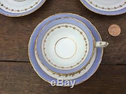 Antique Victorian RIDGWAY Bone China Tea Set DORSET Shape c1850 Teapot Cups
