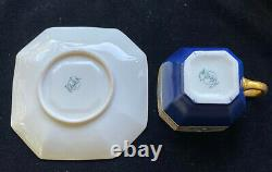 Art Deco Belleek Tea Set 1906-1924 Teapot Sugar Creamer 8 Cups&Saucers -By Lenox
