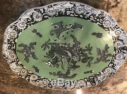 Ashworth Masons Ironstone Tea Set Dragon Foo Dog teapot tray platter 8 Pieces