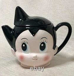 Astro boy Mighty Atom Figure Tea pot Mug set Tezuka series anime goods JP m137