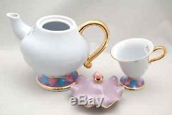 Beauty and the Beast Mrs. Potts Tea Pot & Chip Tea Cup 2 Items Set Tokyo Disney