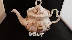 Brambly Hedge Full Size Tea Set Teapot, Milk Jug & Sugar Bowl Royal Doulton