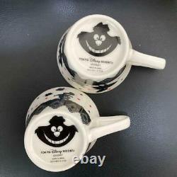 Disney Alice In Wonderland Mad Hatters Tea Party Bone China Teapot & Cups Set z