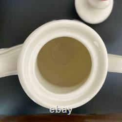 Disney Alice in Wonderland Tea Set Tea pot Cups Japan Import Tracking# Good Used