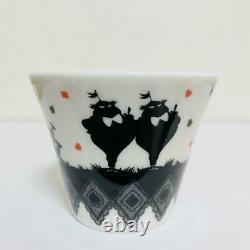 Disney Alice in Wonderland Tea Set Tea pot Cups USED from JAPAN