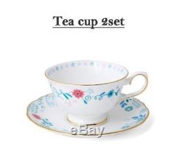Disney Animation Alice In Wonderland Tea Pot, Cup, Spoon, Pork Packaging Set