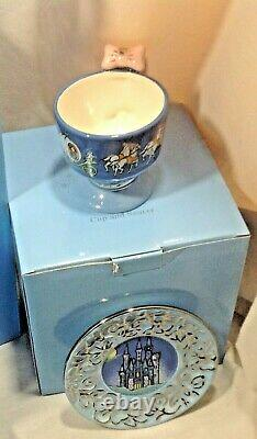 Disney CINDERELLA Fanciful TEA SET 9 Pieces by Elisabete GOMES NEW in BOX