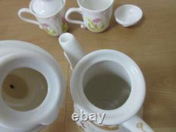 Disney Resort Alice in Wonderland Tea Pot & Mug 2 Cup Set No Box st01