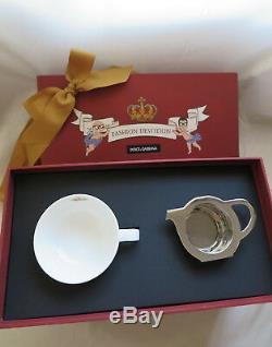 Dolce & Gabbana X Loveramics porcelain cartoon teapot cups set for tee backpack