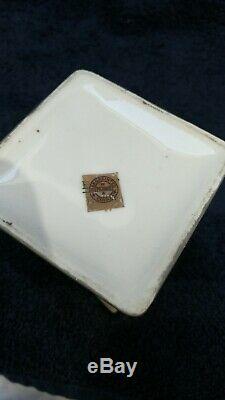 Exceptional Pickard Aura Argenta Art Deco China set C&S, S&P, & Teapot