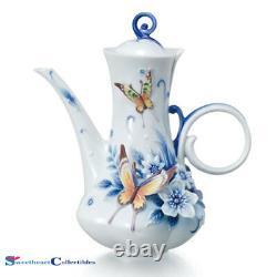 Franz Porcelain Eternal Love Wedding Teapot