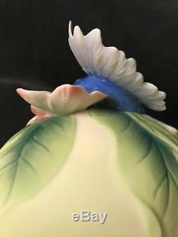 Franz Porcelain Shangri-La Bird Of Paradise Teapot FZ02389 PERFECT