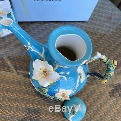 Franz Porcelain Teapot Van Gogh Almond Flower Design FZ02568 2011