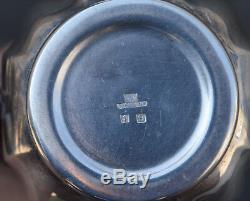 French silverplate Christofle Coffee Pot / Tea Set Gallia Circa 1940's the cafe