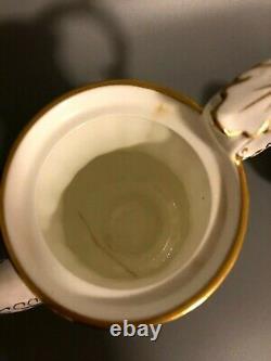 Hammersley Dresden Sprays Bone China Teapot with Creamer and Lidded Sugar bowl