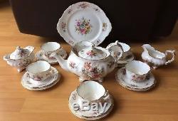 Hammersley Howard Sprays Full Tea Set Large Teapot