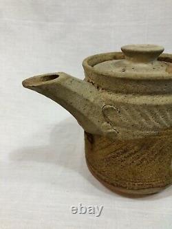 Ian Godfrey Ceramic Teapot Tea Pot British Art Rare One Of A Kind 1980s