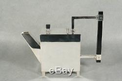 JH1647 Christopher Dresser Reproduction Teapot, Rectangular