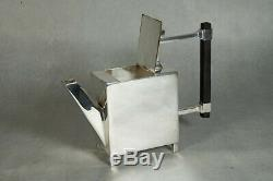 JH1730 Christopher Dresser Reproduction Teapot, Rectangular