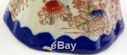 Japanese Tea Set Geisha Kutani Teapot 4 Cups 6 Saucers Hand Painted Vintage