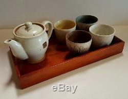 Kansai Yamamoto Stoneware Tea Set