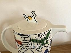 Keith HARING 1991 Original Coffee Set Service Villeroy Boch teapot Kaws Basquiat