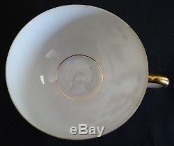 Kutani Japan Lithophane 21pc Set Teapot, Cream, Sugar, 6 Cup & Saucers, 6 Plates
