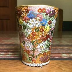 Kutani Ware Koho Set Chawan Bowl Kyusu Teapot Yuzamashi Cup Tea Ceremony Gold