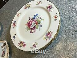 Large Set HAMMERSLEY China England STACKING TEAPOT CUPS SAUCERS PLATES etc NICE