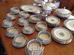 Lenox Autumn China Dinnerware 51 Piece Set for Six +++ Plus Serving Pcs & Teapot