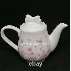 Marron cream tea pot& mug set in 2018