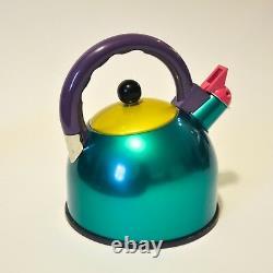 Memphis Era Color Block Teapot