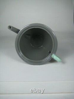 Mikasa Set Teapot Sugar Bowl Memphis Retro Art Deco Style Japan VTG 80s NO LID