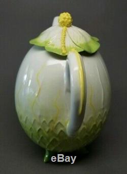Mustardseed & Moonshine Chinese Lantern Teapot Creamer & Sugar Bowl Tea Set RARE