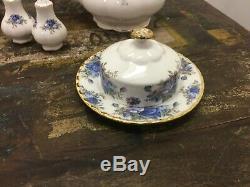 NEW Moonlight Rose Royal Albert Bone China, Serving For 4 Set + Teapot, Gravy