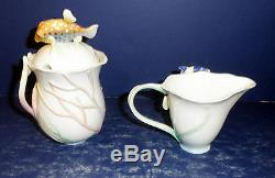 NIB Franz By the Sea Teapot, Sugar & Creamer- FZ01139, FZ01140 & FZ01141
