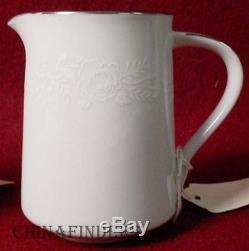 NORITAKE china REINA 6450Q china 37-piece TEA or DESSERT Set with Teapot