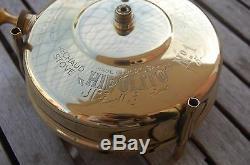 NOS Paraffin Brass Stove Portuguese Hipolito No1 new in the box